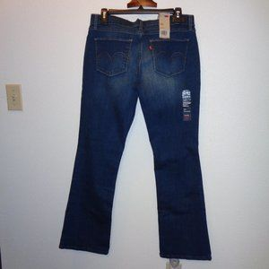 NWT Junior's Levi's 524 Bootcut Jeans Size 11